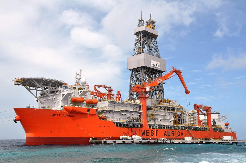 UAC heave compensation accumulator onboard West Auriga drill ship