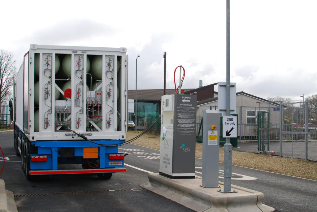 UAC solutions are designed for safe transport of larger gas volumes