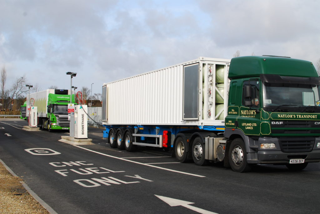UAC ISO container for transport of CNG