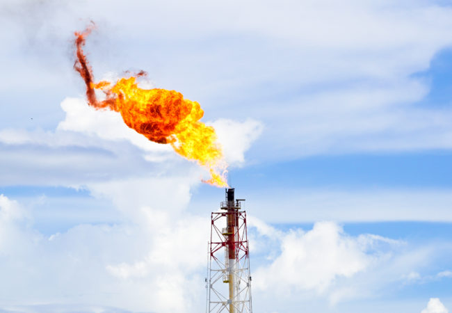 UAC solutions for Flare gas