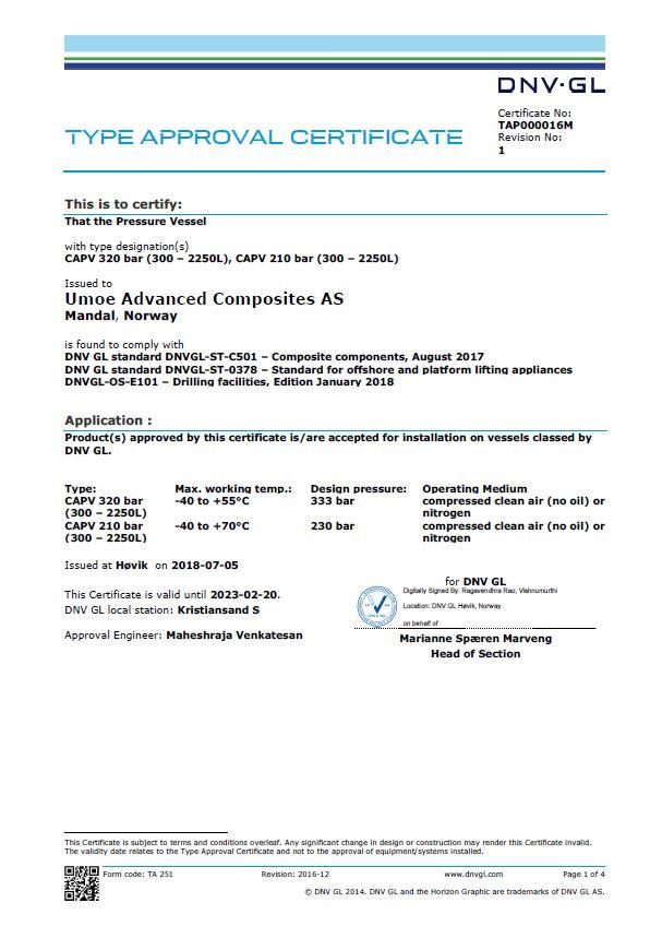 Certification DNV